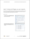 WG.14.AX2012.1.LAB.PRINT: Self Service Reporting Using Excel and PowerView within Dynamics AX 2012 - Student Lab (Print)