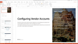 BBCG.06.02.D365.WG.1.PPT: Configuring Accounts Payable within Dynamics 365 for Operations - Module 2: Configuring Vendor Accounts (PowerPoint)