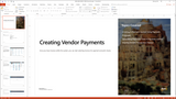 BBCG.06.04.D365.WG.1.PPT: Configuring Accounts Payable within Dynamics 365 for Operations - Module 4 Configuring Vendor Payments (PowerPoint)