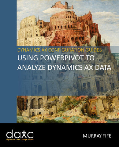 CB.05.AX2012.1: Using PowerPivot to Analyze Dynamics AX Data (Digital)
