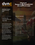 WDTC.01.1.D365.WG.1.PDF: Waterdeep Trading Company Project - Module 1 Expansion 1: Creating a new Training Partition and Legal Entity within Dynamics 365 (Digital)