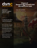 WDTC.02.1.D365.WG.1.PDF: Waterdeep Trading Company Project - Module 2.1: Configuring the Faerûn Cultural Localizations (Digital)