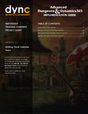 WDTC.03.1.D365.WG.1.PDF: Waterdeep Trading Company Project - Module 3.1: Adding Fiscal Calendar Years (Digital)