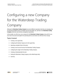 WDTC.03.D365.WG.1.PDF: Waterdeep Trading Company Project - Module 3: Configuring a new Company for the Waterdeep Trading Company (Digital)