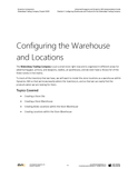 WDTC.04.D365.WG.1.PDF: Waterdeep Trading Company Project - Module 4: Configuring a Warehouses and Products for the Waterdeep Trading Company (Digital)