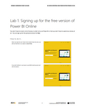 WG.15.AX2012.1.LAB.PRINT: Self Service Reporting Using Power BI within Dynamics AX 2012- Student Lab (Print)