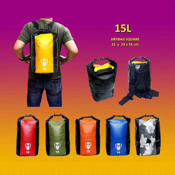 Tas Waterproof Drybag Square15L