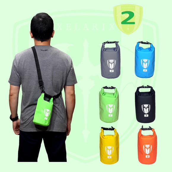 Tas waterproof anti hujan Drybag tube 2L