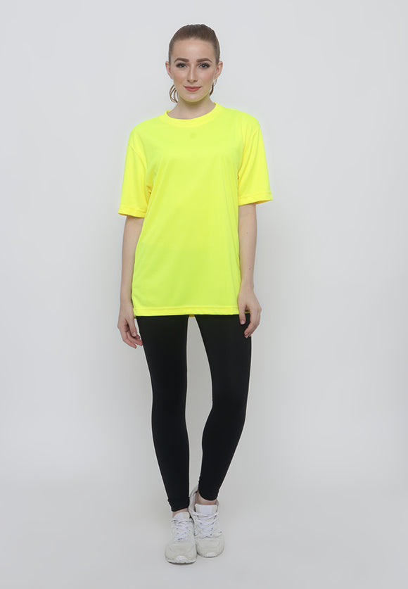 Hitscore T-Shirt Short Sleeve Yellow