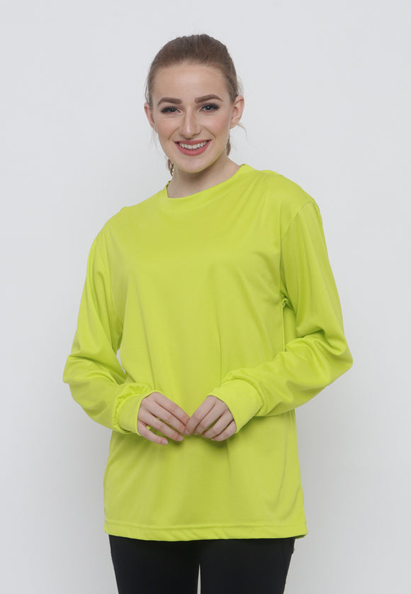 Hitscore T-Shirt Long Sleeve Yellow