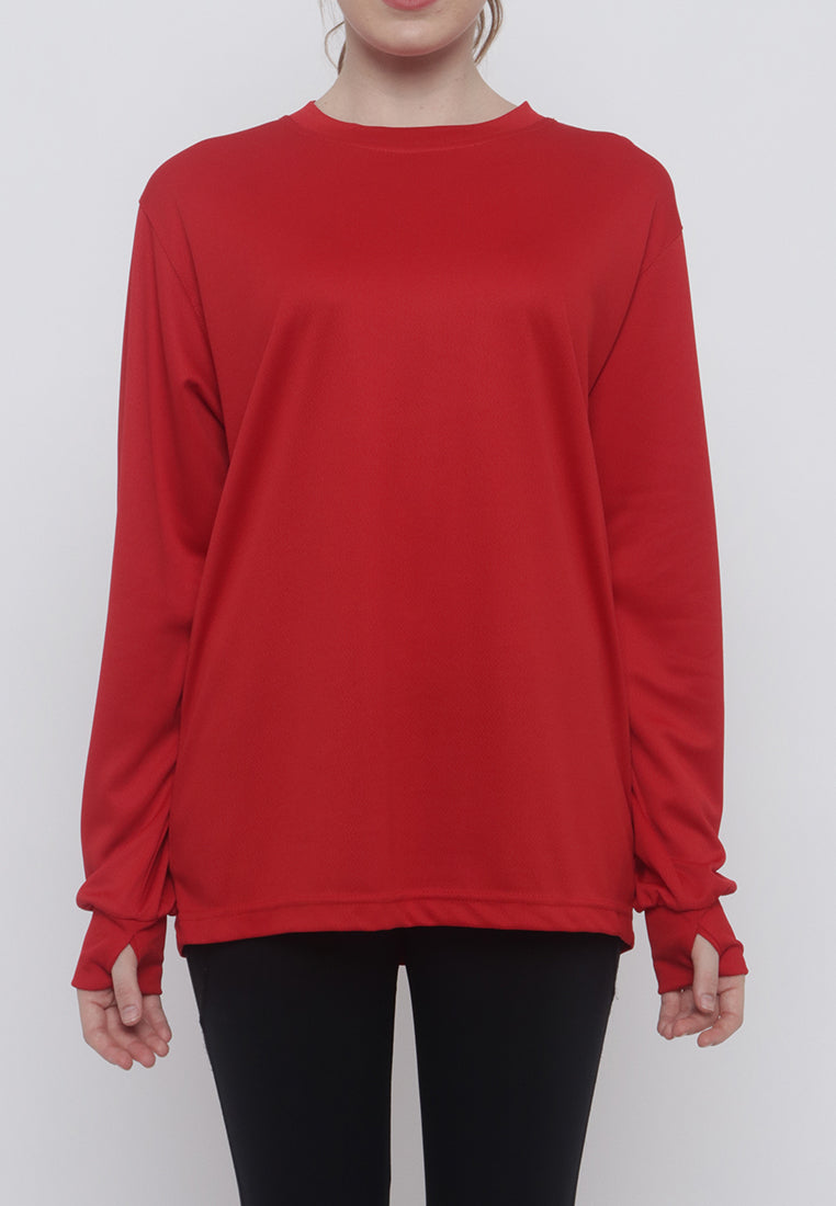 Hitscore T-Shirt Long Sleeve Red
