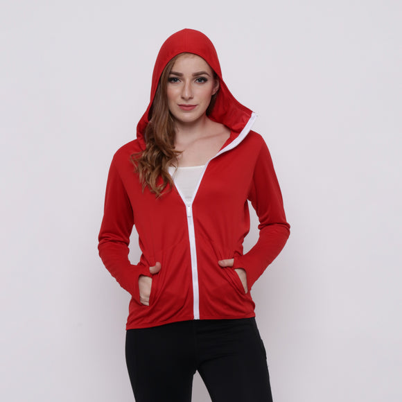 Hitscore Men Jacket Red