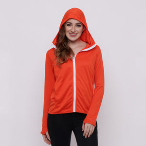 Hitscore Men Jacket Orange