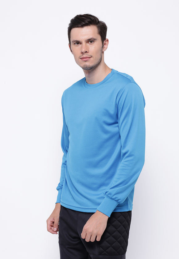 Hitscore T-Shirt Long Sleeve Blue