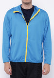 Hitscore Men Jacket Blue