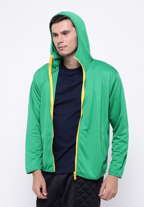 Hitscore Men Jacket Green
