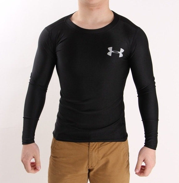 Men's HeatGear® Armour™ Longsleeves Training T-Shirt