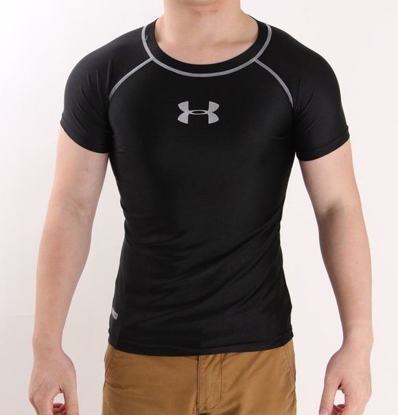 Men's HeatGear® Armour™ Short Training T-Shirt