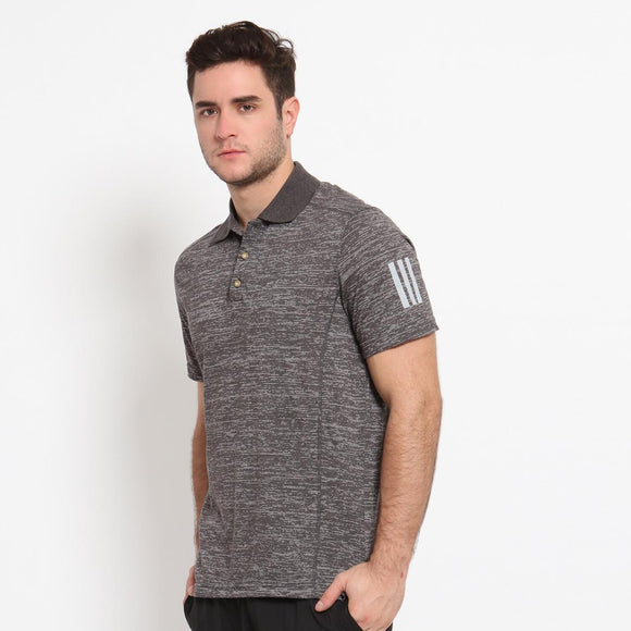 Kaos Golf Polo Pendek RF Rafael Dark Grey