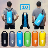 Tas Waterproof Anti Hujan Drybag Tube 10L