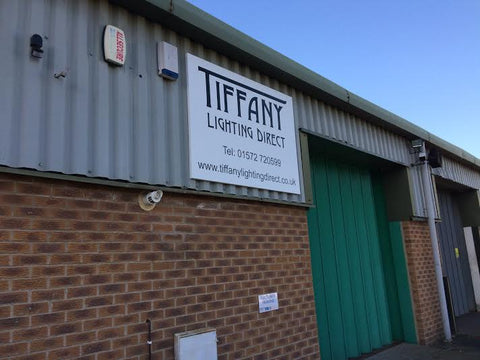 Tiffany lighting direct home outside warehouse