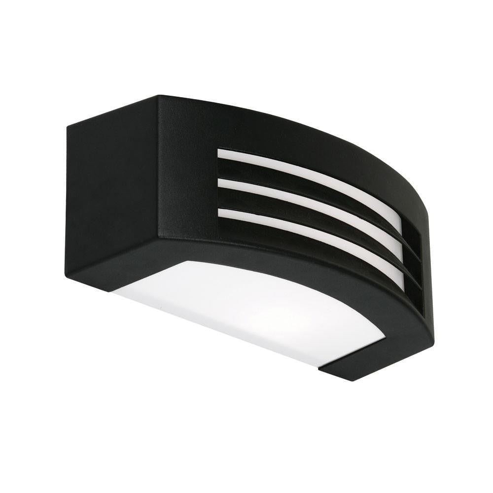 Oaks Outdoor Black Finish Surface Brick Light 070 BK by Oaks Lighting