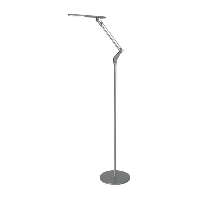 BROOME SILVER LED FLOOR LAMP