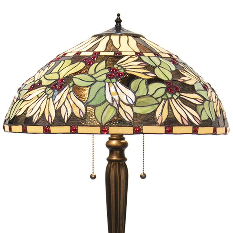 Castlegate Tiffany Floor Lamp close up