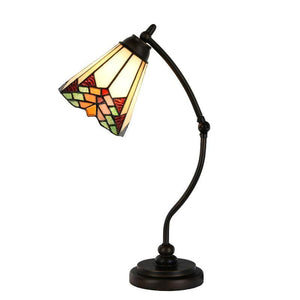 Leamington Tiffany Swan Neck Lamp