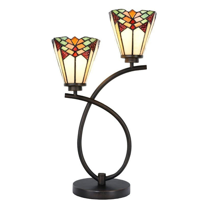 Leamington Double Tiffany Lamp