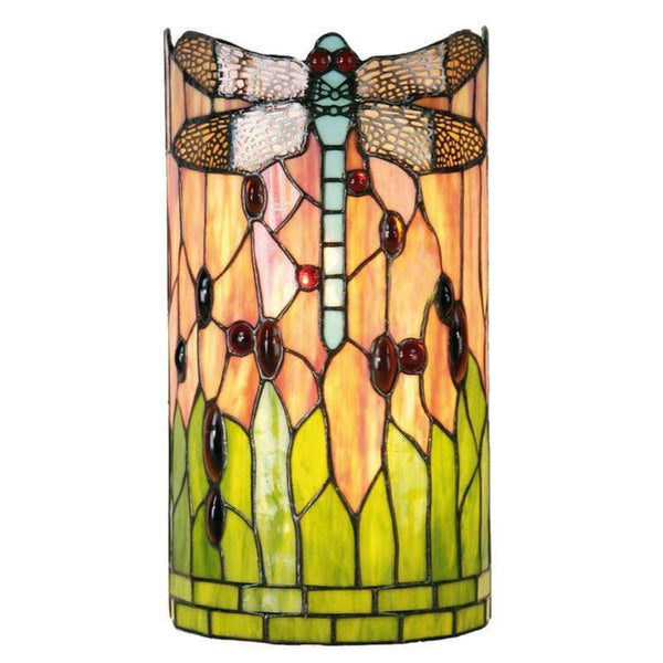 Green Dragonfly Tiffany Wall Light 5LL-9292