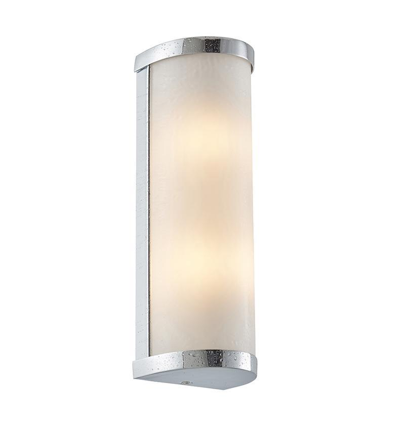 Ice 2lt Wall Light by Endon Lighting