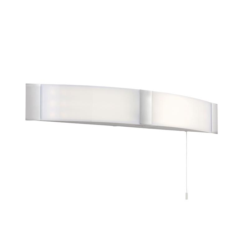 Onan 2lt Chrome Wall Light by Endon Lighting