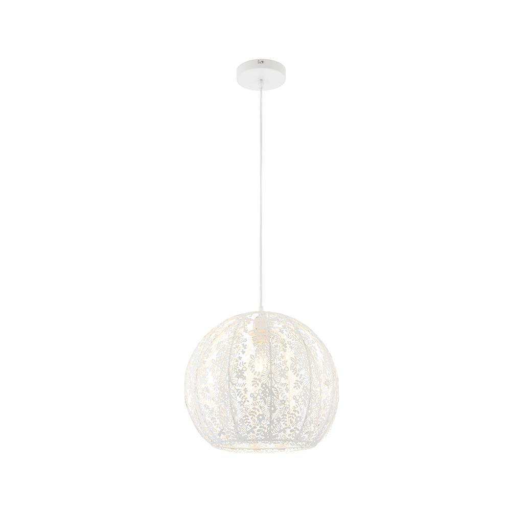 Flora 1lt Ceiling Pendant Light by Endon Lighting