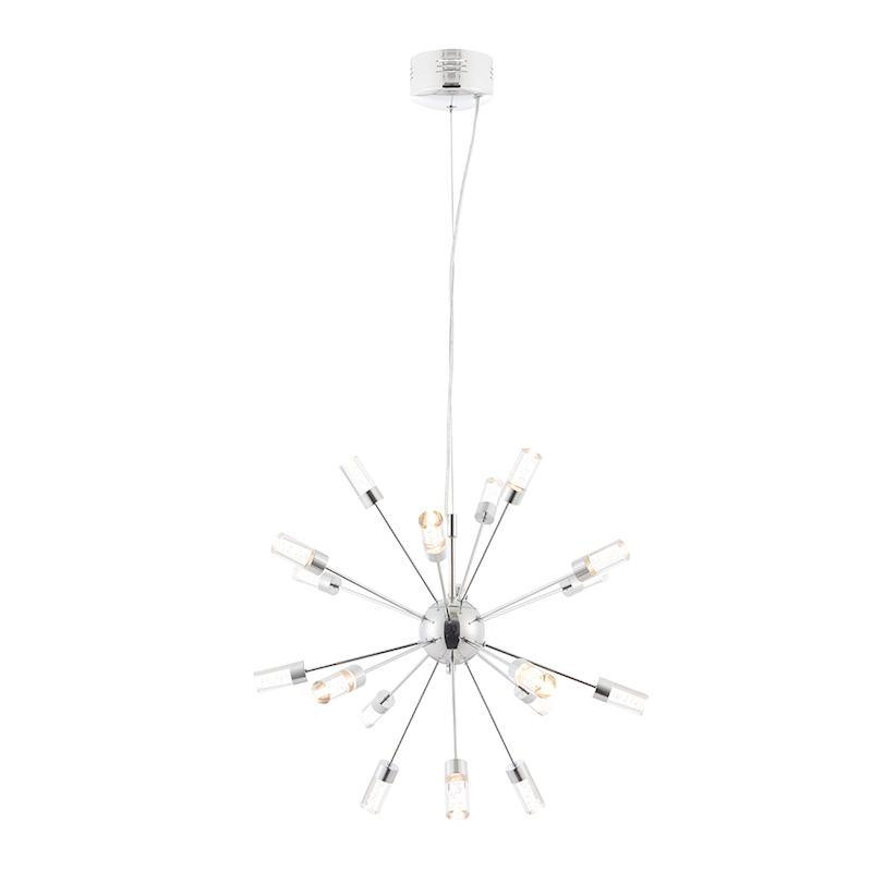 Glacier 18lt Ceiling Pendant Light by Endon Lighting