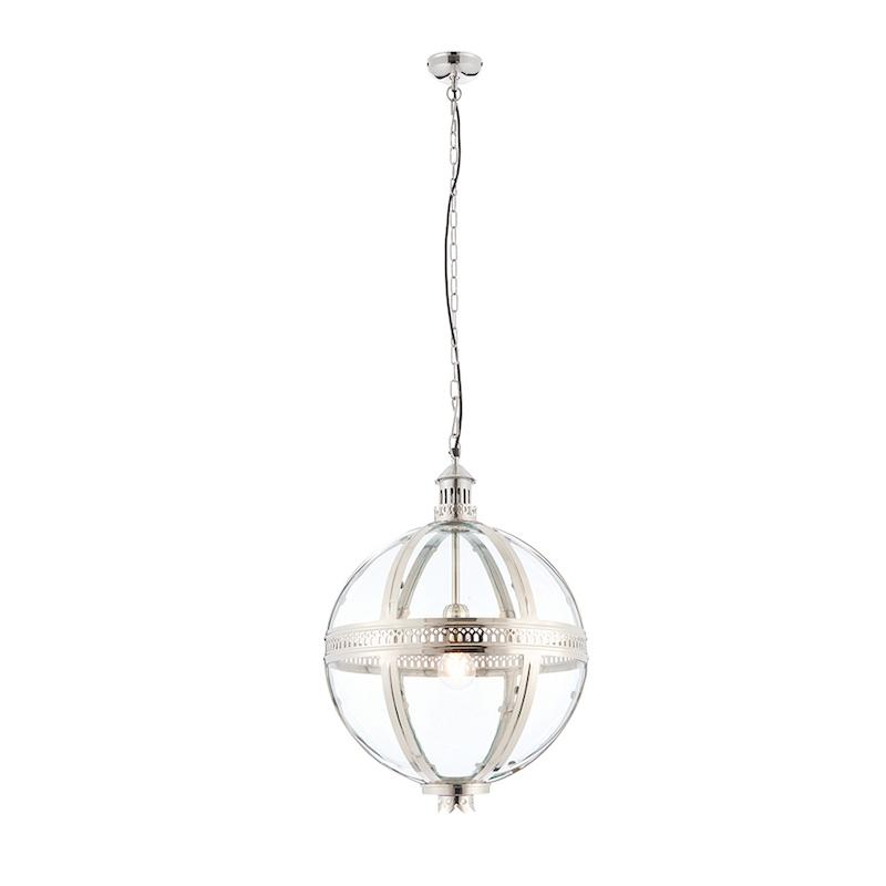 Vienna 1lt Medium Ceiling Pendant Light by Endon Lighting