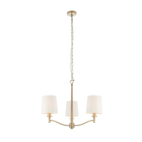 Ortona 3lt Ceiling Pendant Light by Endon Lighting