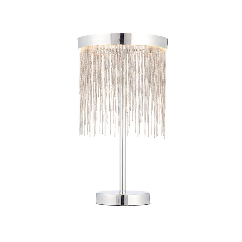 Zelma 1lt Table Lamp by Endon Lighting