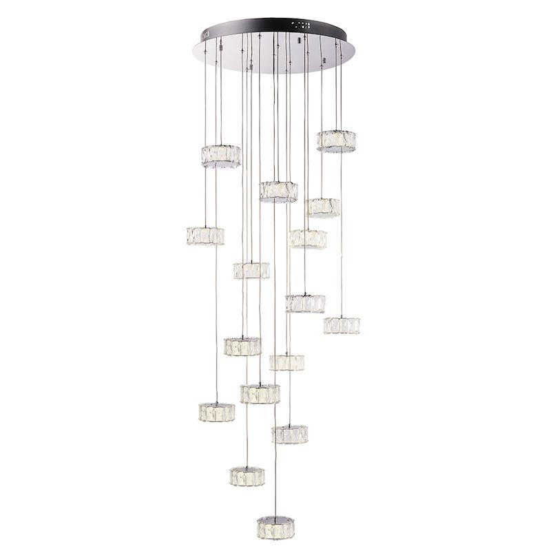 Prisma 16lt Ceiling Pendant Light by Endon Lighting