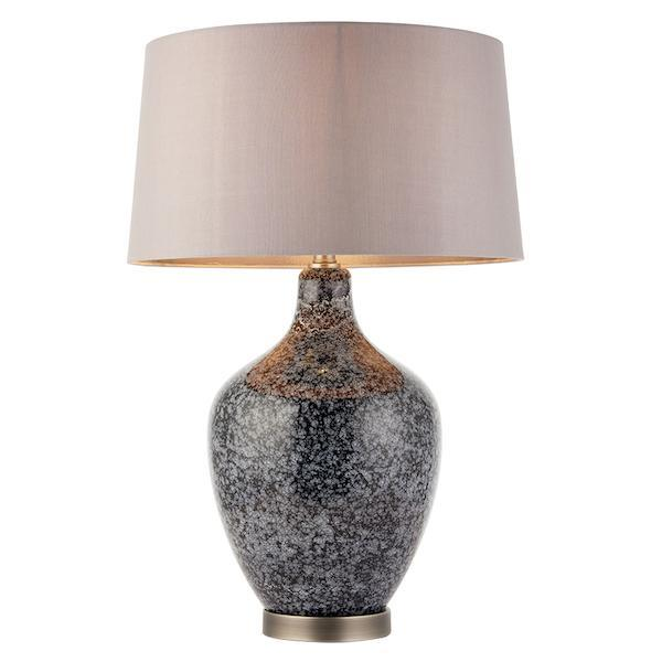 Ilsa 1lt Table Lamp by Endon Lighting