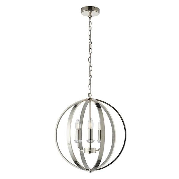 Ritz 3lt Ceiling Pendant Light by Endon Lighting