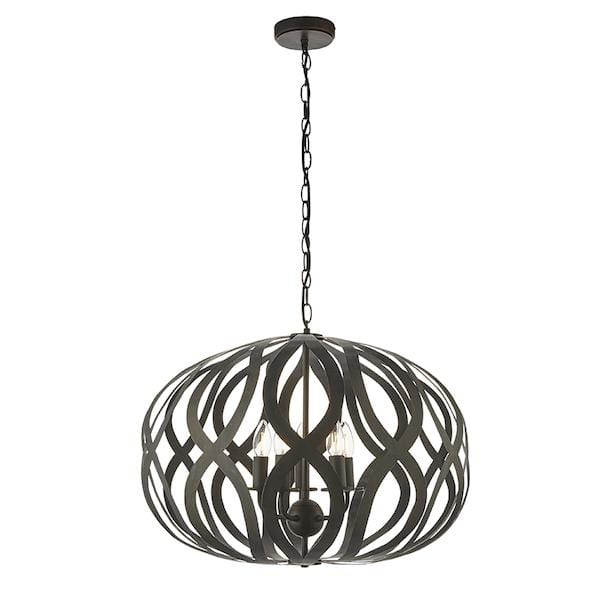 Sirolo 5lt Ceiling Pendant Light by Endon Lighting