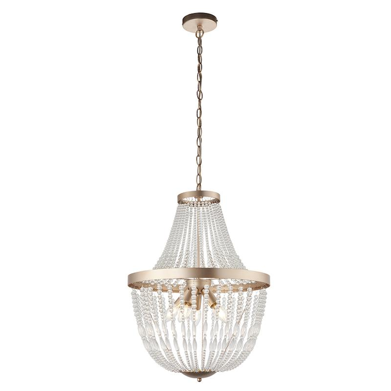 Celine 5lt Ceiling Pendant Light by Endon Lighting