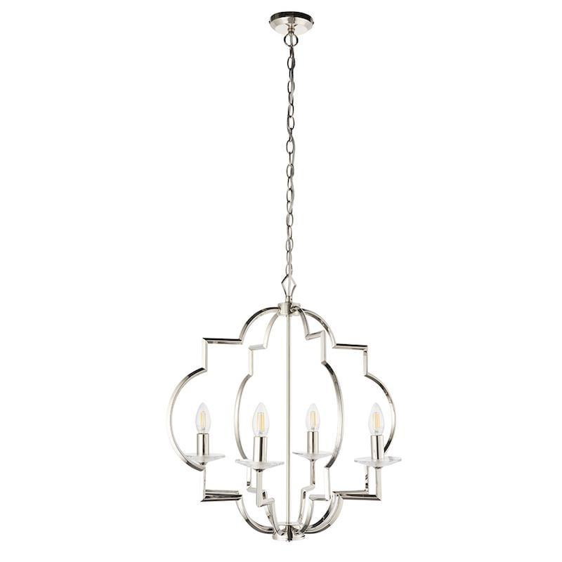 Garland 4lt Ceiling Pendant Light by Endon Lighting