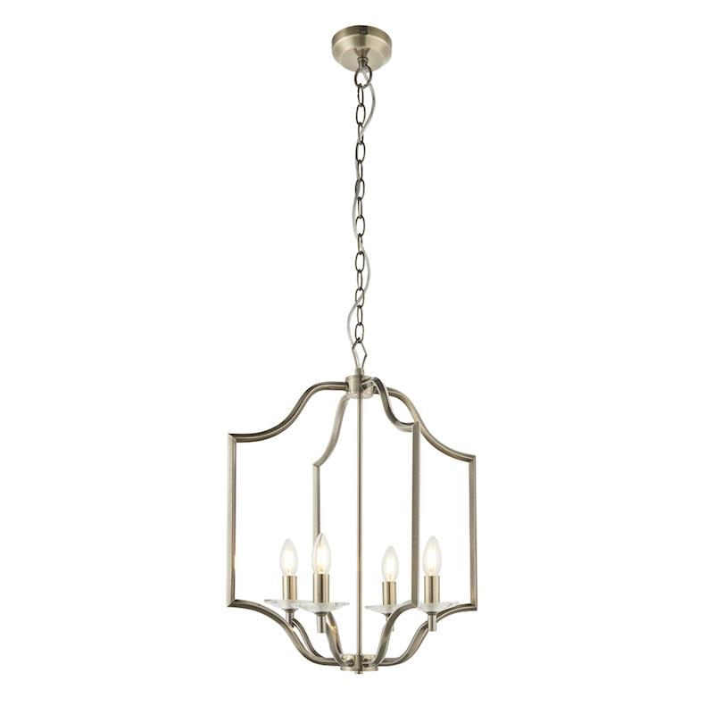 Lainey 4lt Ceiling Pendant Light by Endon Lighting