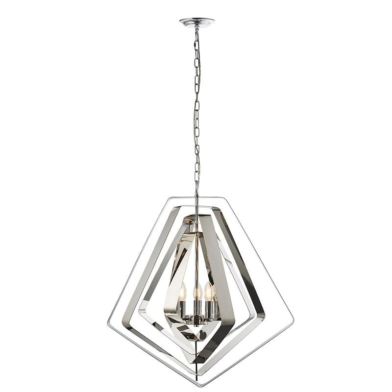 Riona 3lt Ceiling Pendant Light by Endon Lighting