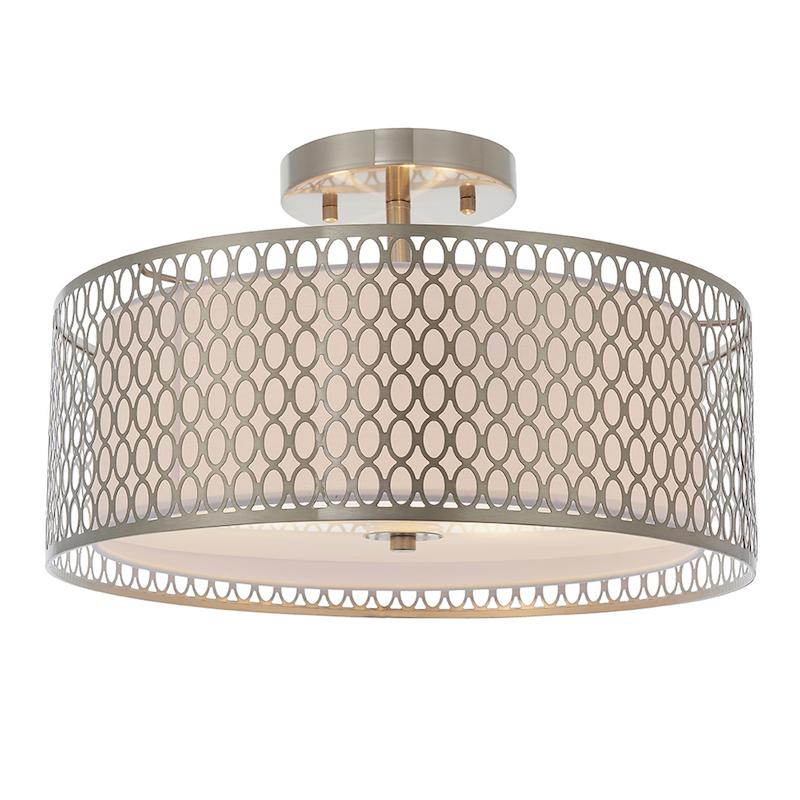 Cordero 3lt Flush Ceiling Light by Endon Lighting