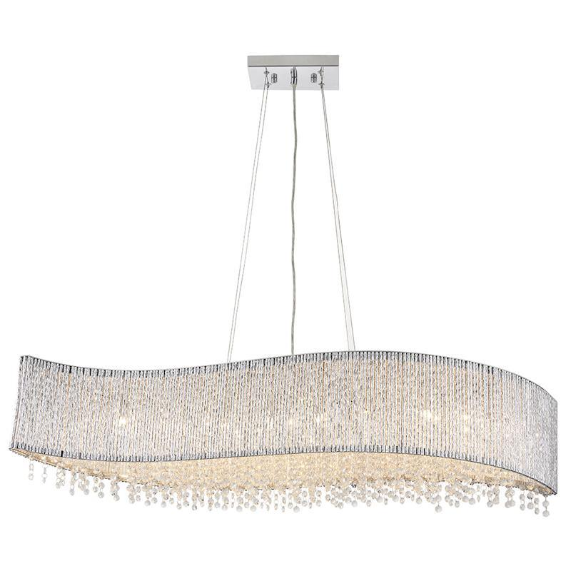 Galina 8lt Ceiling Pendant Light by Endon Lighting