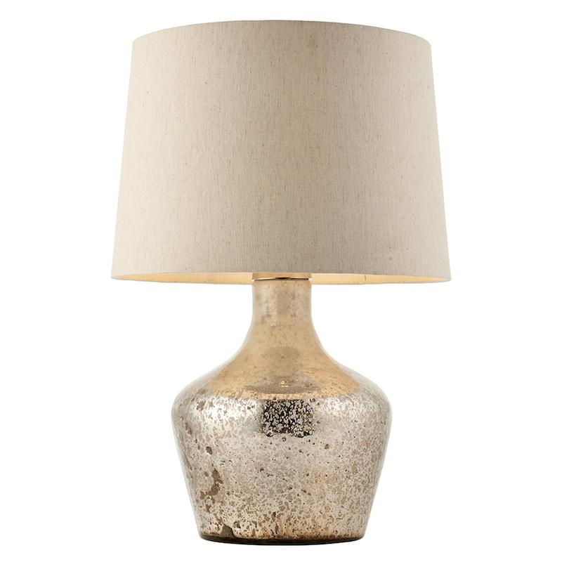 Meteora 1lt Table Lamp by Endon Lighting