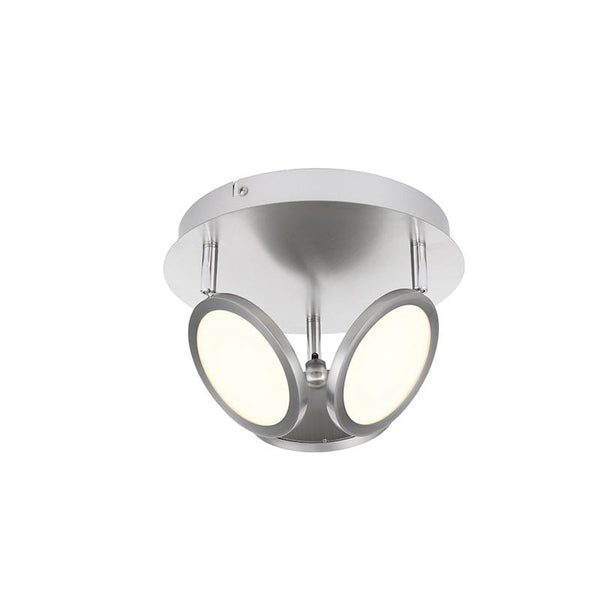 Pluto 3lt Satin Nickel Spotlight by Endon Lighting